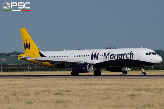 G-ZBAJ A321-231 2610 Monarch Airlines @ Aeroporto di Verona © Piti Spotter Club Verona