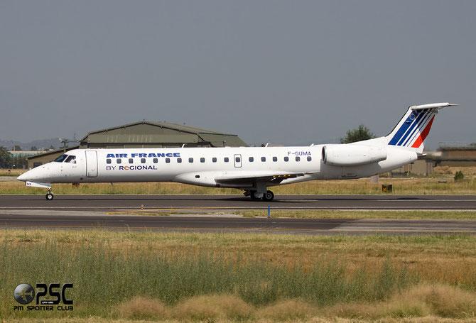 Embraer 135/145 - MSN 405 - F-GUMA @ Aeroporto di Verona © Piti Spotter Club Verona