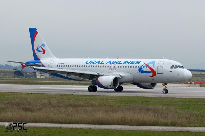 VQ-BAG A320-214 1063 Ural Airlines @ Aeroporto di Verona © Piti Spotter Club Verona