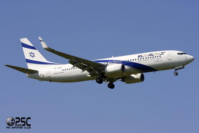 4X-EKS B737-8HX 36433/2702 El Al Israel Airlines