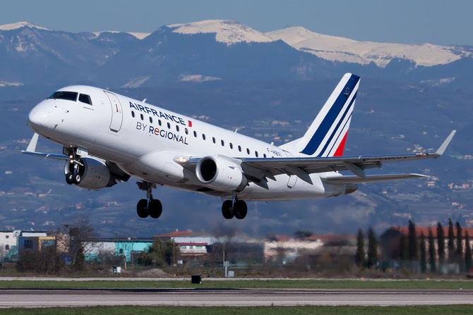 Embraer 170/175 - MSN 310 - F-HBXI  @ Aeroporto di Verona © Piti Spotter Club Verona