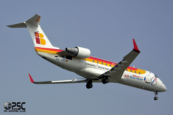 EC-GYI CRJ200ER 7249 Air Nostrum