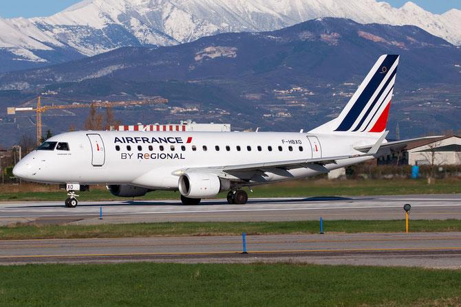 Embraer 170/175 - MSN 32 - F-HBXO  @ Aeroporto di Verona © Piti Spotter Club Verona