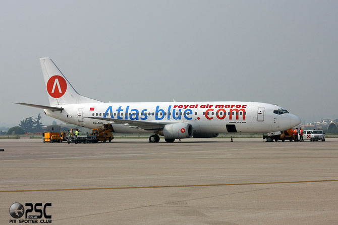 CN-RMX B737-4B6 26526/2219 Atlas Blue