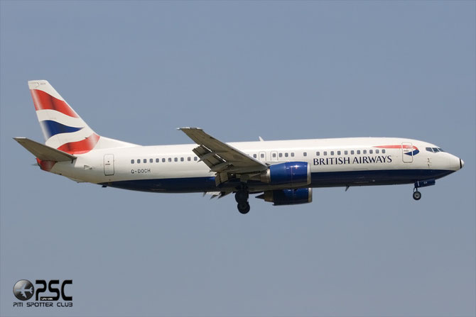 Boeing 737 - MSN 25428 - G-DOCH @ Aeroporto di Verona © Piti Spotter Club Verona
