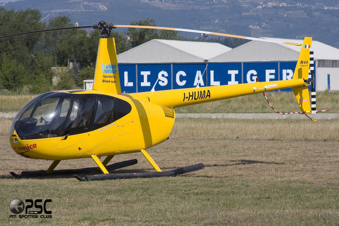 I-HUMA - Robinson R44 Clipper II  Private