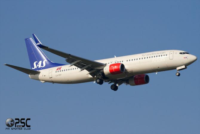 LN-RRF B737-883 35707/2610 SAS Scandinavian Airlines - Scandinavian Airlines System