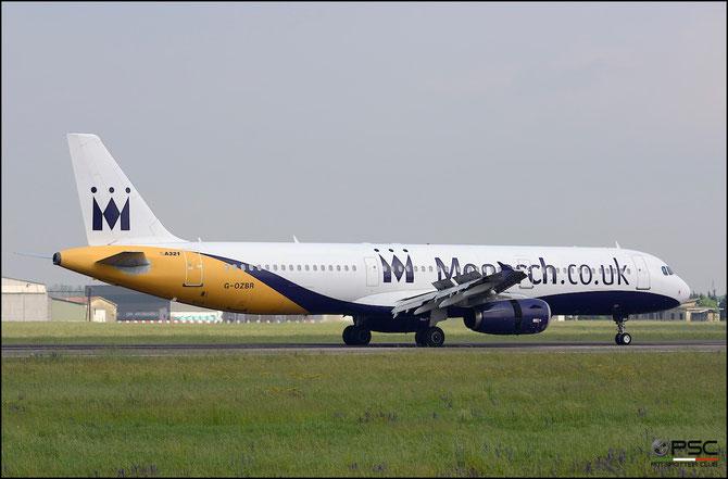 G-OZBR A321-231 1794 Monarch Airlines @ Aeroporto di Verona © Piti Spotter Club Verona