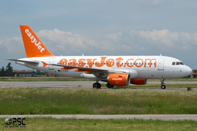 Airbus A319 - MSN 3634 - G-EZDO @ Aeroporto di Verona © Piti Spotter Club Verona