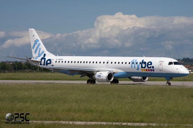 Embraer 190/195 - MSN 128 - G-FBEH @ Aeroporto di Verona © Piti Spotter Club Verona