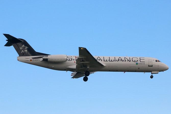 D-AGPK Fokker 100 11313 Contact Air