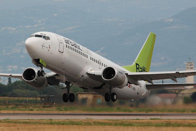 YL-BBJ B737-36Q 30333/3117 airBaltic @ Aeroporto di Verona © Piti Spotter Club Verona