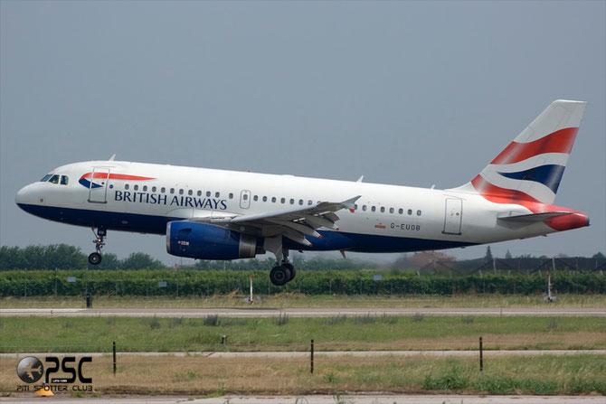 Airbus A319 - MSN 1529 - G-EUOB @ Aeroporto di Verona © Piti Spotter Club Verona