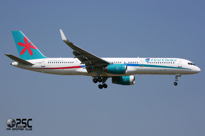 Boeing 757 - MSN 29944 - G-OOBH  @ Aeroporto di Verona © Piti Spotter Club Verona