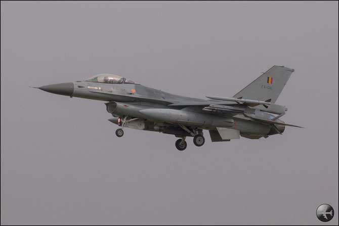 Belgium - FA136  F-16AM 6H-136 2w © Marco Sangrigoli - Piti Spotter Club Verona