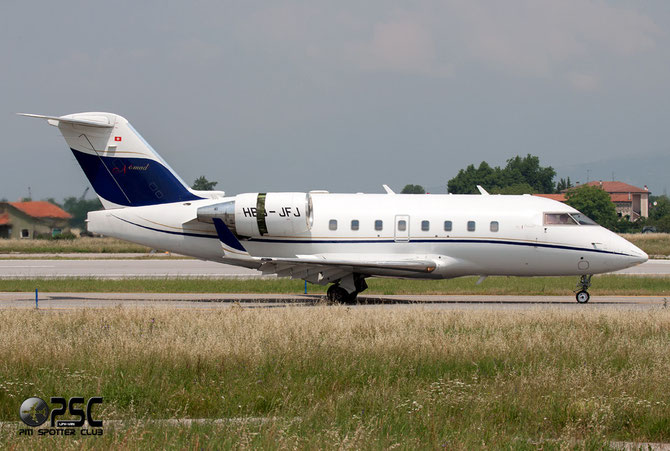 HB-JFJ CL-604 5599 Nomad Aviation