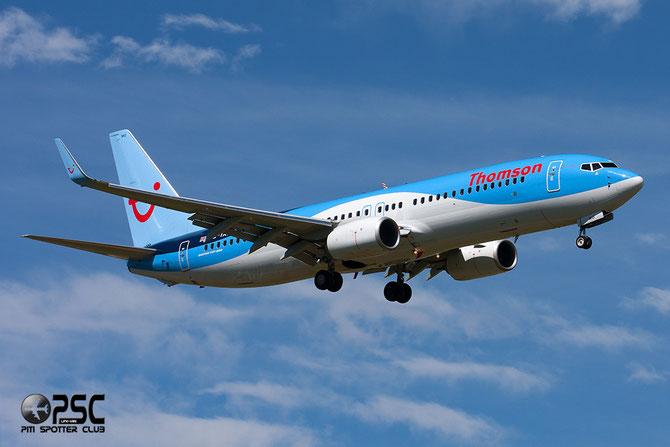 G-TAWO B737-8K5 37255/4384 Thomson Airways