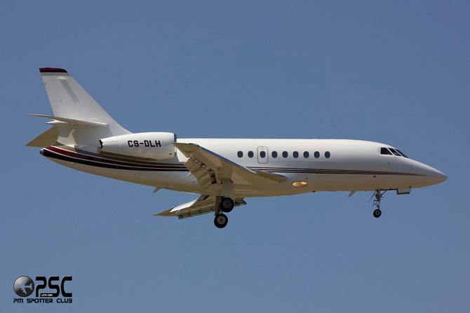 CS-DLH Falcon 2000EX-EASy 149 NetJets Europe