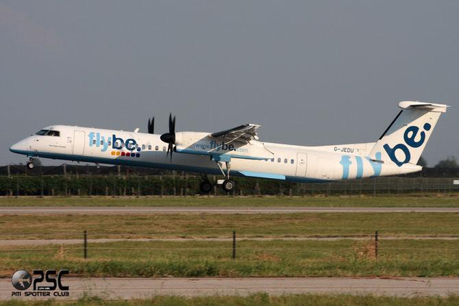 Dash 8 - MSN 4089 - G-JEDU  @ Aeroporto di Verona © Piti Spotter Club Verona