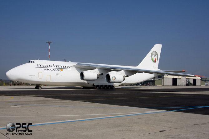 Maximus Air Cargo - Antonov An-124-100 Ruslan - UR-ZYD @ Aeroporto di Verona © Piti Spotter Club Verona