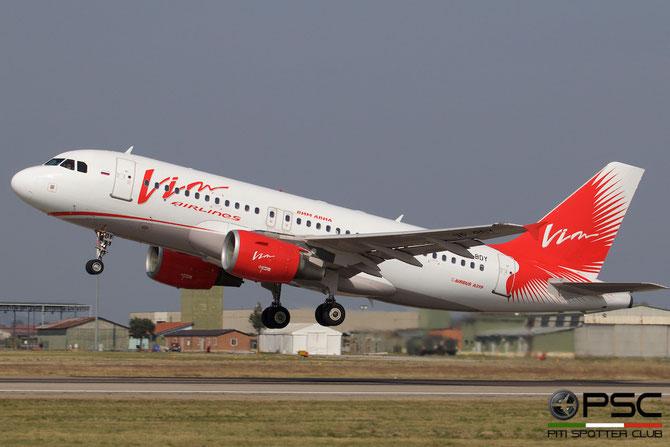 VP-BDY A319-111 2442 VIM Airlines @ Aeroporto di Verona © Piti Spotter Club Verona