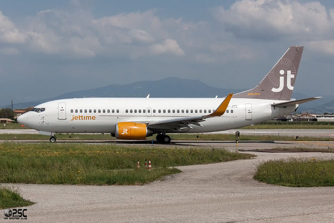 OY-JTC B737-3L9 23718/1402 Jet Time @ Aeroporto di Verona © Piti Spotter Club Verona