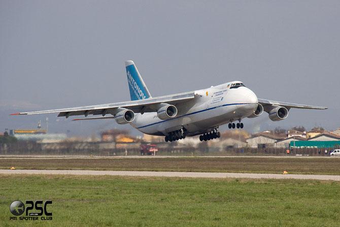 Antonov An-124-100 Ruslan - MSN 9773054359139 UR-82073 Antonov Design Bureau  @ Aeroporto di Verona © Piti Spotter Club Verona