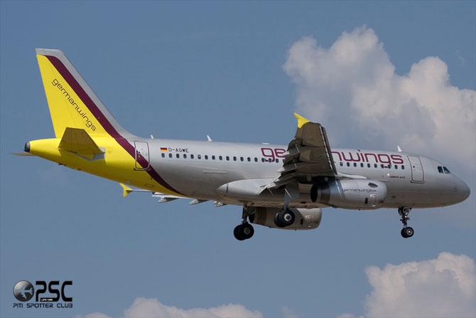 Airbus A319 - MSN 3128 - D-AGWE  @ Aeroporto di Verona © Piti Spotter Club Verona