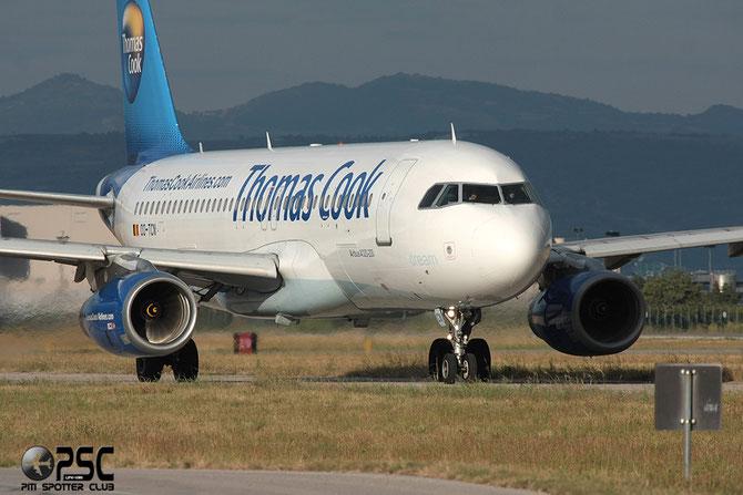OO-TCN A320-232 425 Thomas Cook Airlines Belgium @ Aeroporto di Verona © Piti Spotter Club Verona