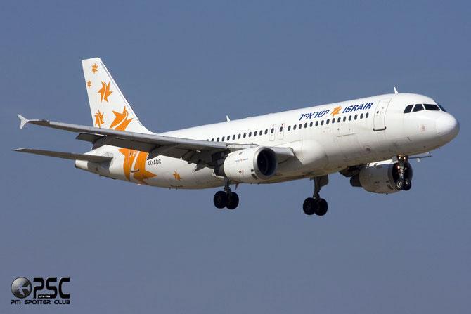4X-ABC A320-211 333 Israir