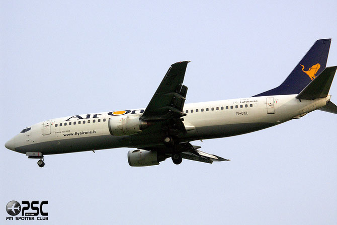 EI-CXL B737-46N 28723/2886 Air One