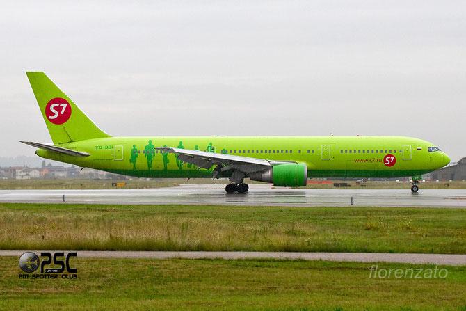 Boeing 767 - MSN 27428 - VQ-BBI  @ Aeroporto di Verona © Piti Spotter Club Verona