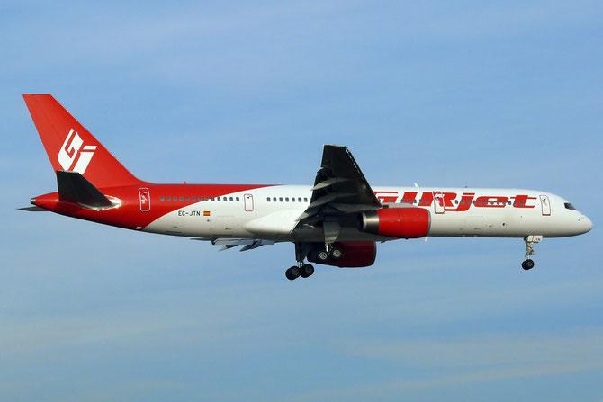 EC-JTN B757-236 25597/441 GirJet - Gestion Aerea Ejecutiva