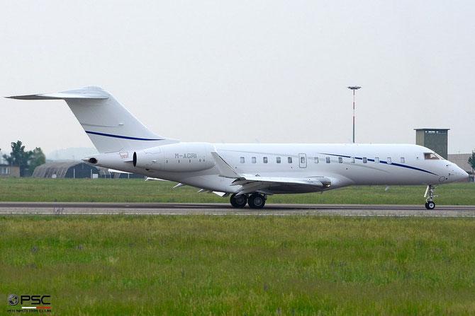 M-AGRI Global 5000 9597 Blezir Invest Ltd. @ Aeroporto di Verona © Piti Spotter Club Verona