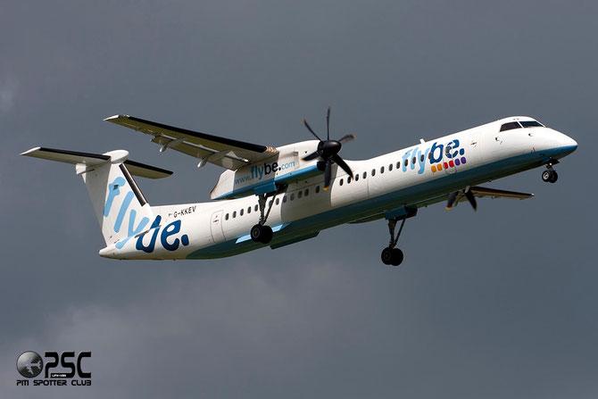 "Dash 8 - MSN 4201 - G-KKEV ""Kevin Keegan""  @ Aeroporto di Verona © Piti Spotter Club Verona"