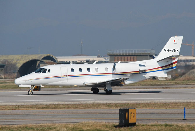9H-VMK Ce560XLS 560-5674 Luxwing Ltd. @ Aeroporto di Verona © Piti Spotter Club Verona