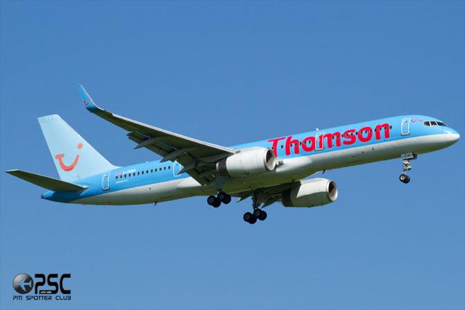 Boeing 757 - MSN 27219 - G-OOBR @ Aeroporto di Verona © Piti Spotter Club Verona
