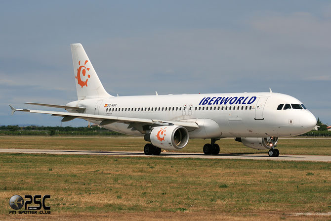 EC-KBQ A320-214 1657 Iberworld Airlines