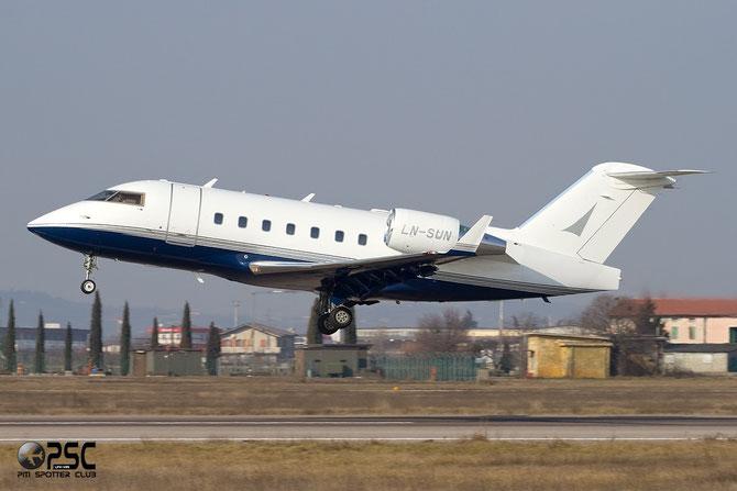 LN-SUN CL-604 5517 Sundt Air A/S