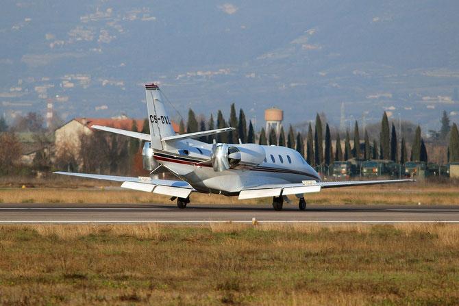 CS-DXL Ce560XLS 560-5640 NetJets Europe @ Aeroporto di Verona - 2016 © Piti Spotter Club Verona
