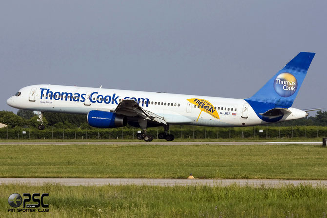 G-JMCF B757-28A 24369/226 Thomas Cook Airlines @ Aeroporto di Verona © Piti Spotter Club Verona