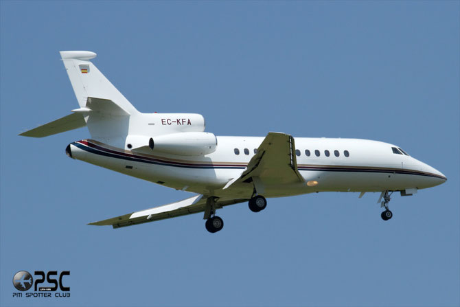 EC-KFA Falcon 900C 169 Corporate Jets XXI
