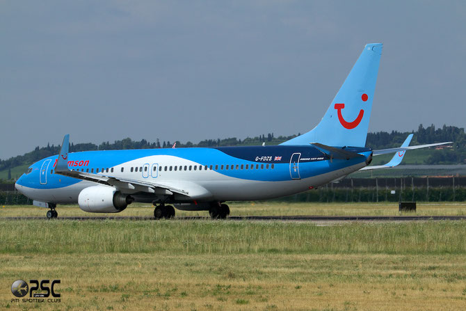 G-FDZS B737-8K5 35147/2866 Thomson Airways