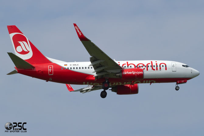 D-ABLE B737-76J 36873/3496 Air Berlin