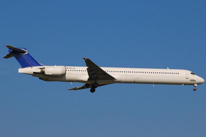 HB-JID MD-90-30 53460/2142 Hello