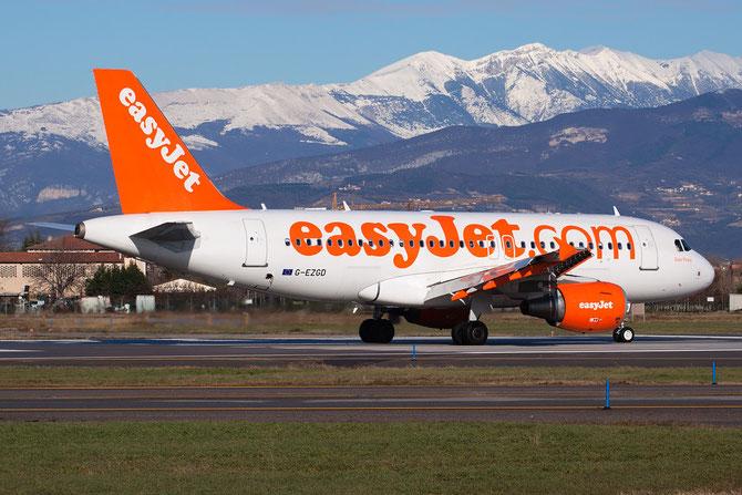 Airbus A319 - MSN 4451 - G-EZGD @ Aeroporto di Verona © Piti Spotter Club Verona