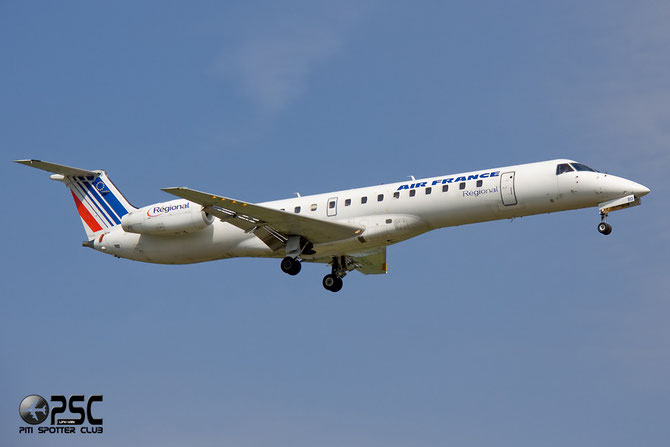 Embraer 135/145 - MSN 333 - F-GUBD  @ Aeroporto di Verona © Piti Spotter Club Verona