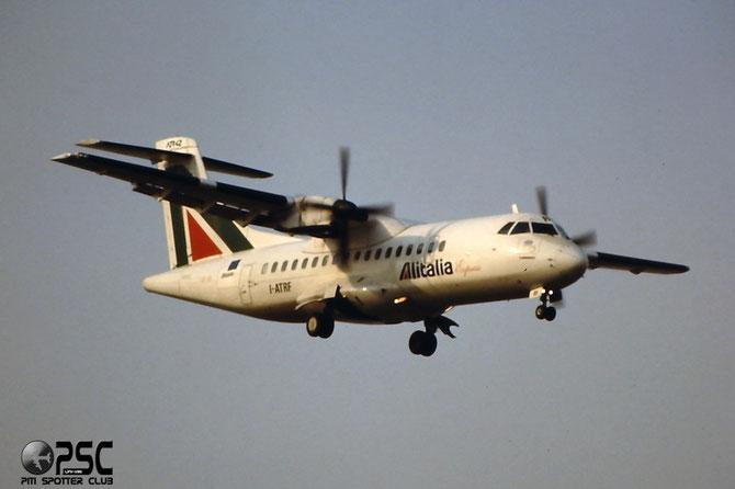I-ATRF protagonista sulla scena nazionale prima con ATI e poi con Avianova, Alitalia Express e Air Industria