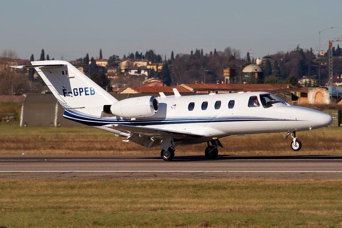 F-GPEB Ce525 525-0533 ADD Sarl @ Aeroporto di Verona © Piti Spotter Club Verona
