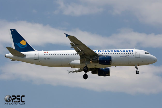 TS-INK A320-211 112 Nouvelair Tunisie